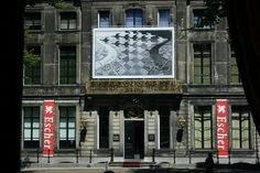 Escher museum at Lange Voorhout palace, La Haye, Holland