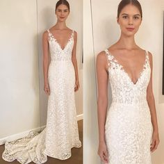 """465 Likes, 1 Comments - Belle & Tulle Bridal (@belleandtulle) on Instagram: """"Behind the scenes at Anne Barge Fall 2018 Wedding Collection showcase featuring style """"Aubrey""""…"""""""