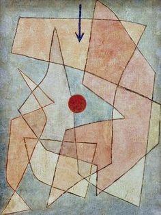 Paul Klee, Tragodia / 1932 #Paul #Klee #weewado #paul #klee #bauhaus #german #art #abstract