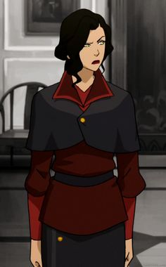 Asami is not going to deal with your BS. Korra Avatar, Team Avatar, Asami Sato, Republic City, Ship Drawing, Avatar Series, Iroh, Korrasami, Legend Of Korra