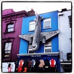 Yep that's a #plane stuck to a building #Camden Get the #KookyLondon #App https://itunes.apple.com/gb/app/kooky-london/id625209296?mt=8 #ig_London #London #igLondon #London_only #UK #England #GreatBritain #British #iPhone #kooky #quirky #odd #weird #photoftheday #photography #picoftheday #igerslondon #londonpop #lovelondon #timeoutlondon #instalondon #londonslovinit #click_london #Padgram