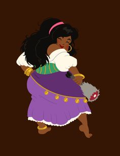 hungry princess - esmeralda by ~kaffepanna on deviantART