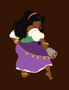 hungry princess - esmeralda by ~kaffepanna on deviantART