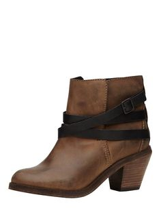 ankle boot..can be worn with or without the straps