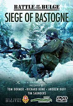With the Fifth Panzer Army fighting its way towards the River Meuse, the cross roads town of Bastogne, vital for the success of Hitler's last attempt to check the Allies in the west, the Americans rushed reinforcements to hold it. Scary Movies, Great Movies, Great Books, Military Love, Army Love, Siege Of Bastogne, Amazon Prime Movies, John Wayne Movies, War Film