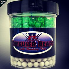 Get your eagle on with 2k diffuser beads! #420 #diffuserbeads #eagles #jets #football #footballfan #sports #bong #420football #white #green #colors #diffusion #bubbles #bubbler #hookah #beads