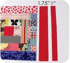 How to put finished quilted blocks together using the quilt as you go method