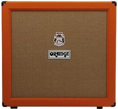 """Orange PPC412HP Guitar Speaker Cabinet: Loaded with four 12"""" Celestion speakers, this stereo guitar cabinet delivers massive low end and warm mids -- the perfect match for your high-gain amp head."""