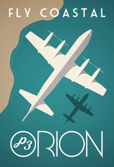 Orion RAAF Edinburgh by Retropilot on Etsy Vintage Airline, Vintage Travel Posters, Retro Posters, Air Fighter, Fighter Jets, Orion Tattoo, Aviation Decor, Us Navy Aircraft, Royal Australian Air Force