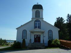 Norris Arm (église Our Lady of Mount Carmel), Terre-Neuve-et-Labrador, Canada (49.094147, -55.254806)