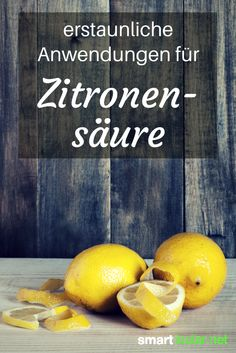 15 amazing uses for citric acid - Trend Autos Reinigen Tipps 2020 Diy Cleaning Products, Cleaning Hacks, Backyard Solar Lights, Belleza Diy, Green Cleaning, Green Life, Good Advice, Healthy Tips, Clean House