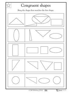 Shape Basics: Congruent Shapes   Geometry
