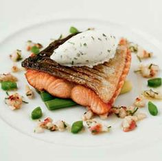 Salmon and Beans by Marcus Waring