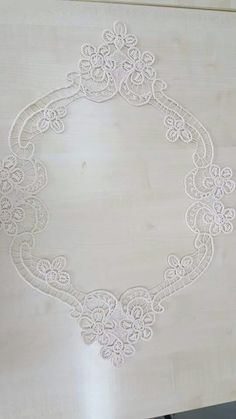 This Pin was discovered by Bah Hand Stiching, Lace Stencil, Romanian Lace, Point Lace, White Embroidery, Lace Patterns, Bargello, Bobbin Lace, Irish Crochet