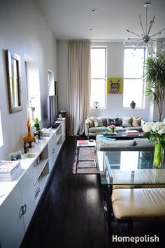 Ahoy, Beautiful! - This gorgeous Chelsea one-bedroom gets glam from the ground up @Homepolish NYC