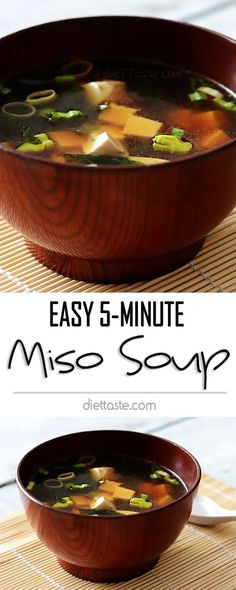 Easy 5-Minute Homemade Miso Soup