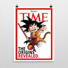 """The origins revealed ! Poster by Geek me that. Dragon ball """"The greatest fight in history"""" Poster Goku vs Vegeta Museum-quality posters made on thick, durable, matte paper. A statement in any room. These puppies are printed on archival, acid-free paper. - Printer Using Epson UltraChrome water based HDR ink-jet technology Basis Weight: 192 gsm Media Thickness: 10.3 mil (0.26 mm) ISO Brightness: 104% Opacity: 94% -Luster Paper Epson Ultra Premium Luster Photo Paper Between a gloss and matte..."""
