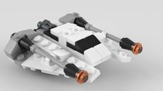 https://flic.kr/p/HNaSmW   8029 Mini Snowspeeder   Re-render of my LDD model using Mecabricks and Blender. This model wasn't released, but instructions were in 2008. First built/rendered in 2010.