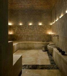 one day, my pretty, one day. Spa Lounge, Steam Room, Marrakesh, My House, Living Spaces, Interior Decorating, Bathtub, Relax, Shower