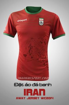 2014 World Cup-Iran-Away kIt