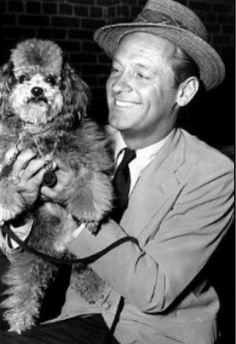 William Holden - David with Little David, from the movie Sabrina! <3