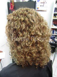 Stupendous Perms For Medium Length Hair Spiral Perm Hairstyles On Medium Hairstyles For Men Maxibearus