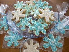 christmas cookies and candy | Snowflake Christmas Cookies. | Food: cakes, cupcakes, cookies, candy