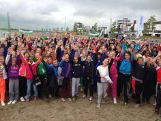 scholierenvoetbal 2013, Beachsoccer, @Nesselande Rotterdam Rotterdam, Rotterdam, The Netherlands