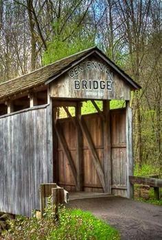 #Covered #Bridge - #Ohio    http://dennisharper.lnf.com/