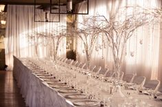 Perfect winter wedding reception decor. Matt Kennedy - Portfolio Photo By www.mattkennedy.ca