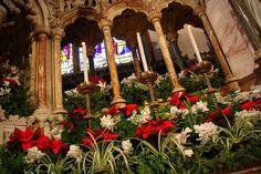 Christmas Sanctuary Decor