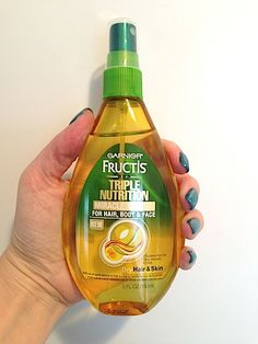 Review, Ingredients: Garnier Triple Nutrition Miracle Dry Oil For Hair, Body And Face – Best Multi-Purpose Treatment