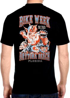 45ffaf2095 2018 Daytona beach bike week wild hog t-shirt