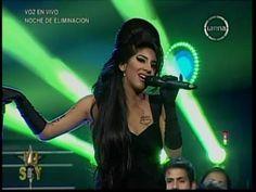 "Yo Soy 22-08-13 AMY WINEHOUSE Sorprende al Jurado con ""Back To Black"" [Yo Soy 2013] COMPLETO - YouTube"