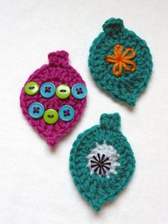 These cute ornaments are quick to make and embellish!