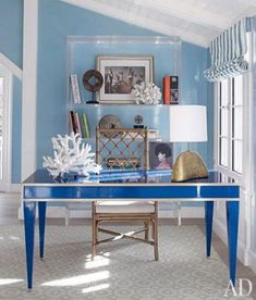 Etonnant ComfyDwelling.com » Blog Archive » 30 Inspiring Coastal And Beach Inspired  Home Offices