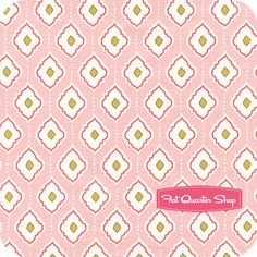 Bella Butterfly Pink Medallions Yardage SKU# PS5425-PINK-D - Fat Quarter Shop