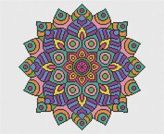 KIT Mandala Cross Stitch Kit declaración por theworldinstitches