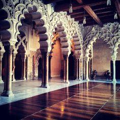 Estancias del testero norte. Palacio de la Aljafería. Zaragoza, España