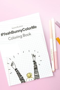 If You Are Looking For A Creative Way To Spend Free Time And Love Colors This Book Is YouDrawings Made By Iwona Kuziora Creator Of The Yeah Bunny
