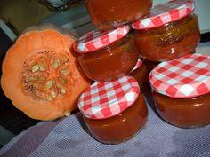 Compota de Abóbora, Cenoura e  Maçã aromatizada de baunilha
