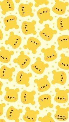 [人気キャラ大盛り]くまのプーさん2 iPhone壁紙 Wallpaper Backgrounds iPhone6/6S and Plus Winnie the Pooh Pattern iPhone Wallpaper
