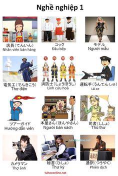 từ vựng tiếng Nhật chủ đề nghề nghiệp