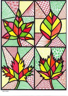 Je vous propose plusieurs graphismes décoratifs et arts visuels sur le thème de l'automne : La première fiche a été épinglée sur Pinterest ...