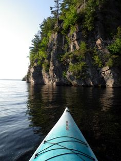 Bon Echo Provincial Park - This was me kayaking a couple of summers ago :)