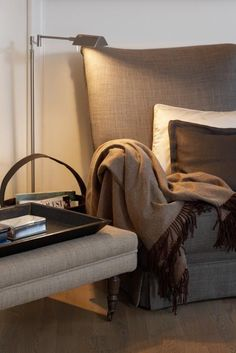 Surround yourself with textures, textiles and warm colors