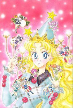 Sailor Moon. Manga.