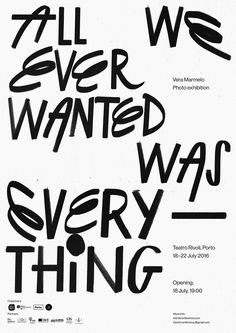 Bráulio Amado / Vera Marmelo Exhibition, Poster 2016