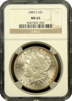 Morgan Silver Dollars NGC/PCGS MS-65