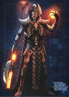 Maynarkh Necron Overlord